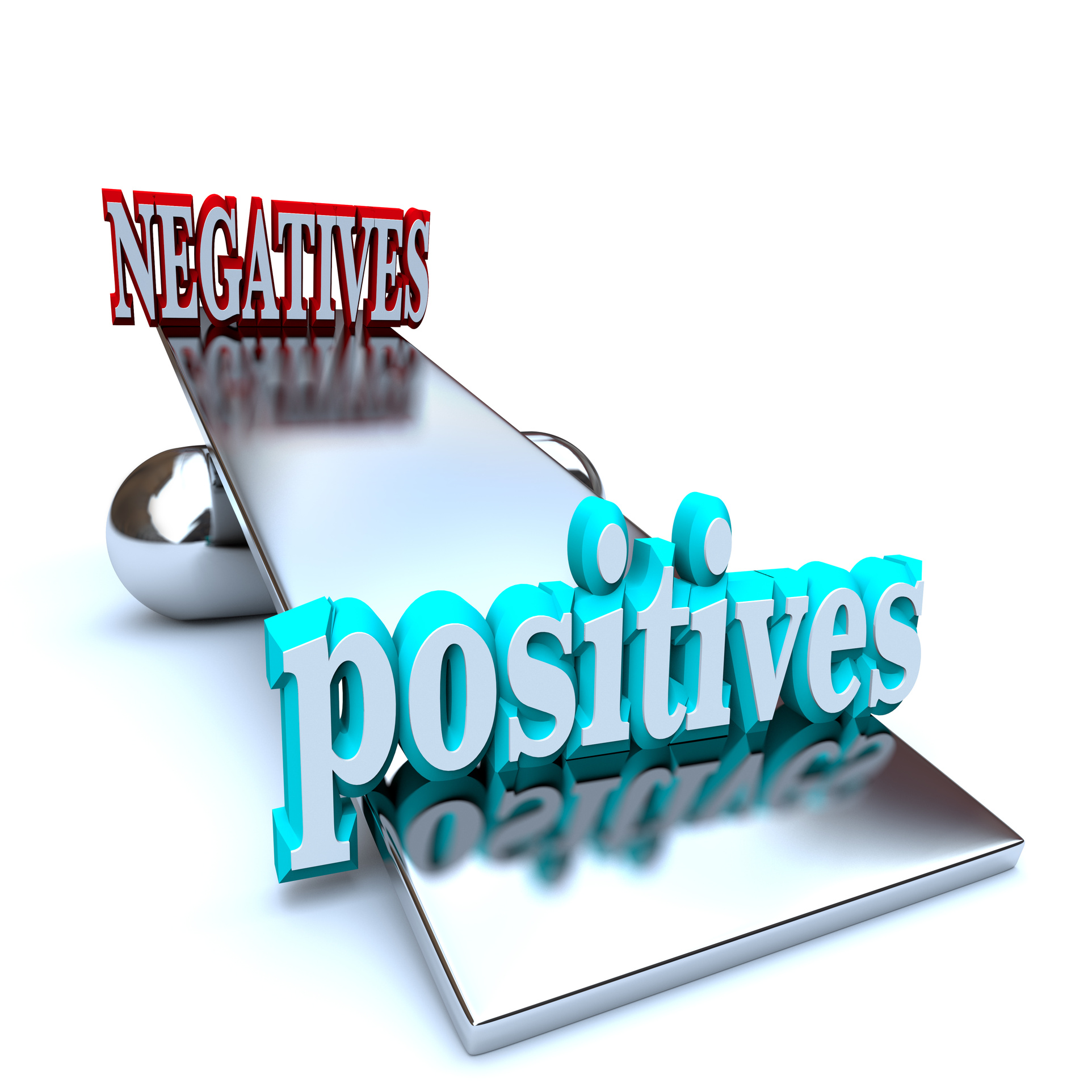 Weighing the Positives vs Negatives