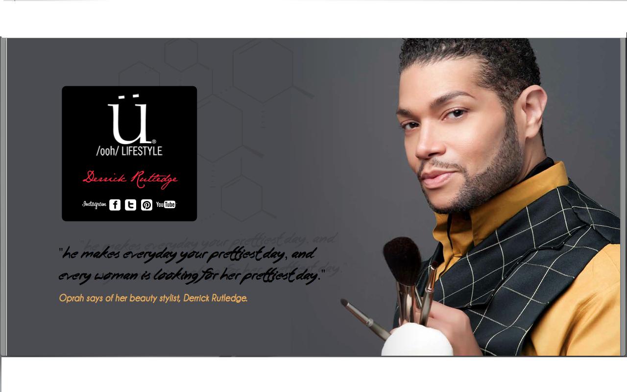 Derrick Rutledge - Make Up Artist To Oprah Winfrey & Michelle Obama