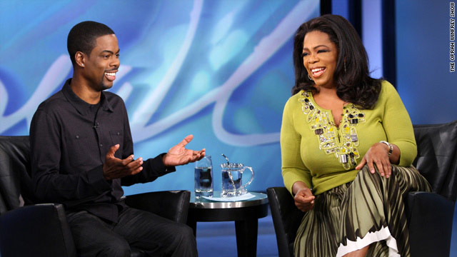 Oprah Behind The Scenes rock star surprise