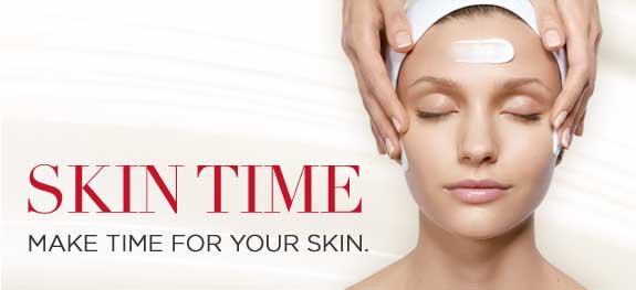 skin time