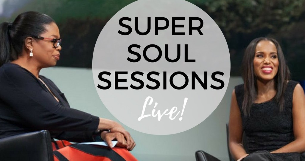 oprah winfrey - super soul sessions live