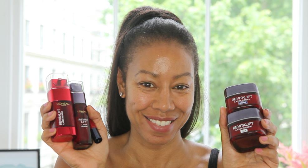 L'Oreal Revitalift Skincare Routine